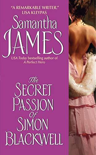 9780060896454: The Secret Passion of Simon Blackwell (Avon Historical Romance)