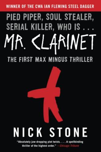 9780060897338: Mr. Clarinet (Max Mingus Thriller)
