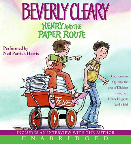 9780060898311: Henry and the Paper Route CD