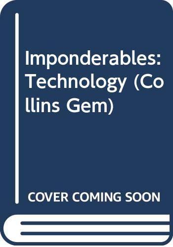 9780060898878: Imponderables(R): Technology (Collins Gem)