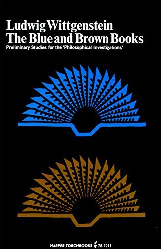 "9780060900458: The Blue and Brown Books: Preliminary Studies for the ""Philosophical Investigations"""