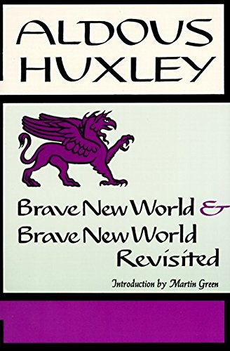 9780060901011: Brave New World, and, Brave New World Revisited