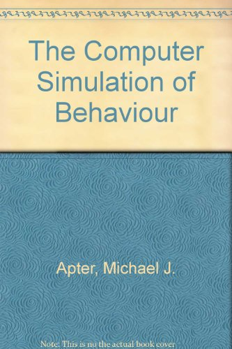 9780060902346: The computer simulation of behaviour (Harper colophon books, CN234)