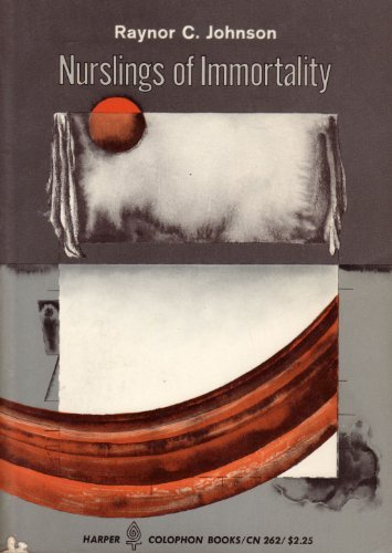 9780060902629: Nurslings of immortality, (Harper colophon books, CN 262)