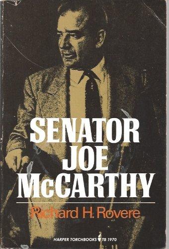 9780060903459: Senator Joe McCarthy (Harper colophon books)