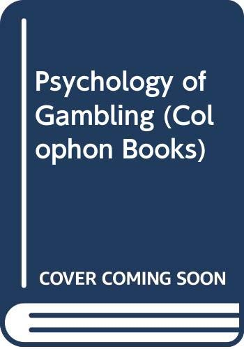 9780060904180: Psychology of Gambling (Colophon Books)