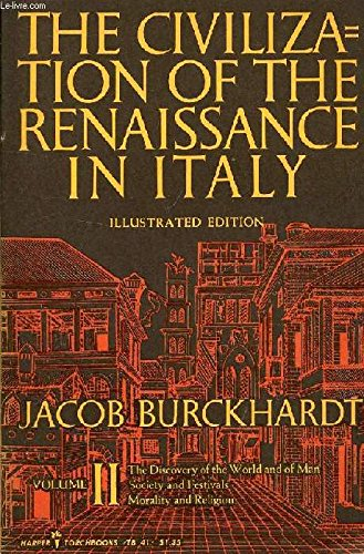 an analysis of the civilization of the renaissance in italy Buy the civilization of the renaissance in italy by jacob burckhardt (isbn: 9780486475974) from amazon's book store everyday low prices and free delivery on eligible orders.