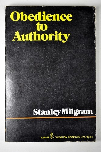 dilemma inherent in obedience to authority Implications of obedience to authority studies an important long-range consequence of milgram's research is the regulations that are now in place in the united states and many other countries to safeguard the well-being of the human research subject.