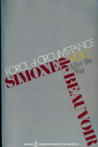 9780060905590: Force of Circumstance Volume 2