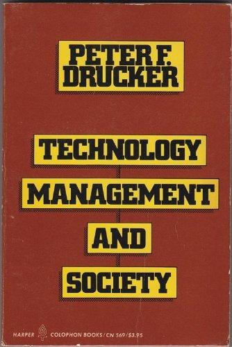 9780060905699: Technology, management & society : essays
