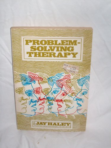 9780060905835: Problem-Solving Therapy (Colophon Books)