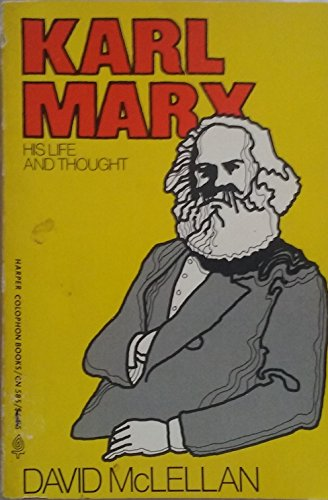 9780060905859: Karl Marx: His Life and Thought
