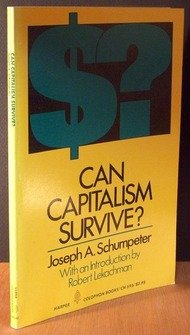 9780060905958: Can Capitalism survive? (Harper colophon books, CN 595)