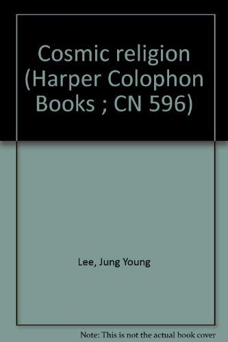 9780060905965: Cosmic religion (Harper Colophon Books ; CN 596)
