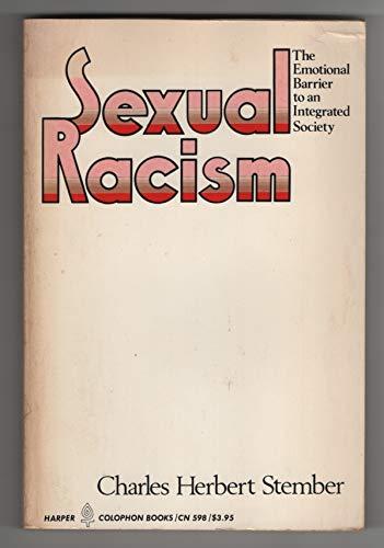 9780060905989: Sexual Racism