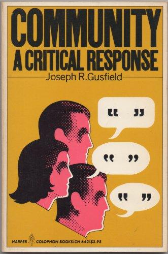 9780060906429: Community: A Critical Response