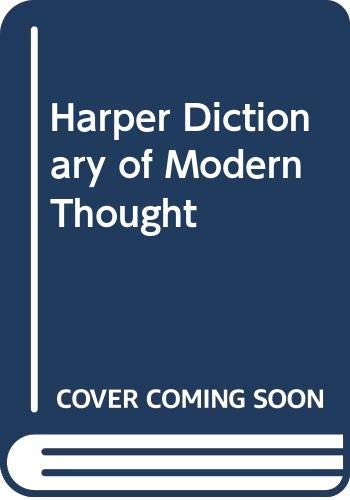 9780060906610: Harper Dictionary of Modern Thought