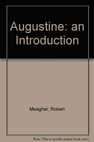 9780060906641: Augustine:  an Introduction