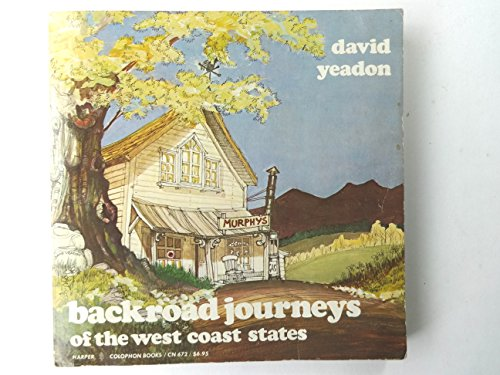 9780060906726: Backroad journeys of the West Coast States: Oregon, Washington, and California