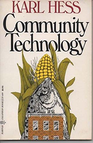 9780060906894: Community Technology