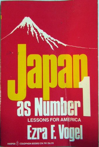 9780060907914: Japan As Number One: Lessons for America (Japanese Edition)