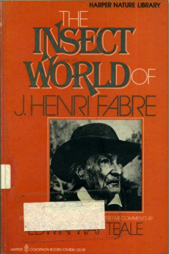 9780060908065: The insect world of J. Henri Fabre (Harper nature library)