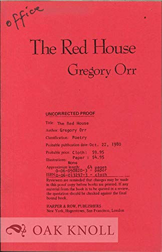9780060908201: The Red House
