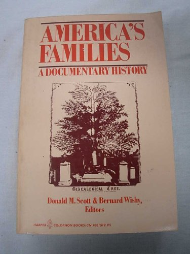 9780060909031: America's Families: A Documentary History