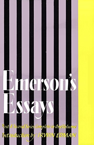 9780060909062: Emerson's Essays: First and Second Series