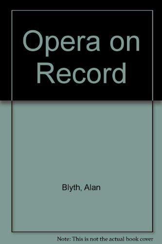 9780060909109: Opera on Record