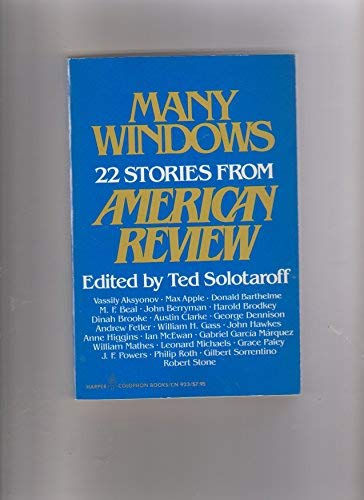 9780060909239: Many Windows: 22 Stories from American Review (Harper Colophon Books)