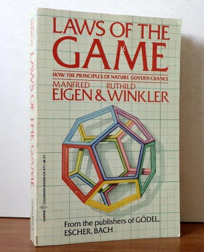 Laws of the Game: How the Principles: Eigen, Manfred, Winkler,