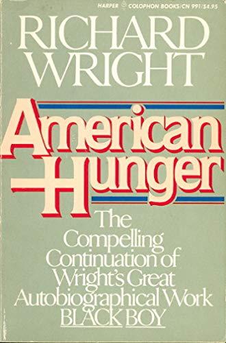 9780060909918: American Hunger