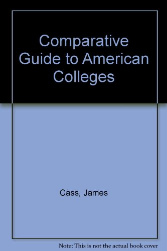 9780060910396: Comparative Guide to American Colleges (Harper Colophon Books)