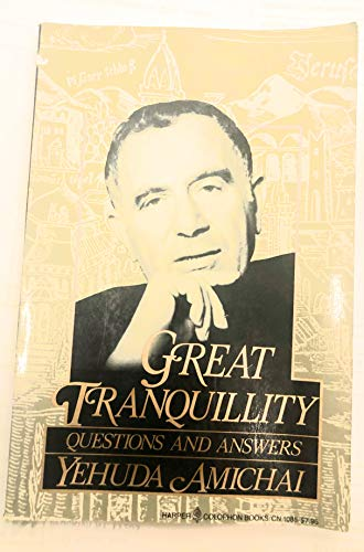 9780060910853: Great Tranquillity: Questions and Answers