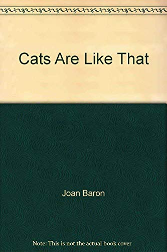 9780060911485: Cats are like that