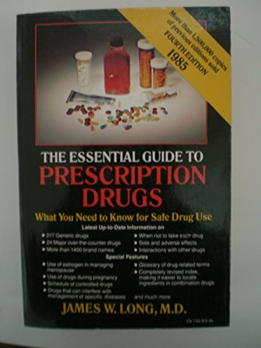 9780060911935: The Essential Guide to Prescription Drugs