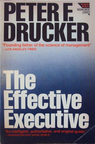 9780060912093: Effective Executive (Harper colophon books)