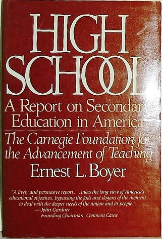 High School: A Report on Secondary Education: Boyer, Ernest L.