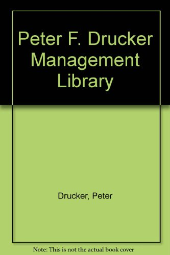 9780060912345: Peter F. Drucker Management Library
