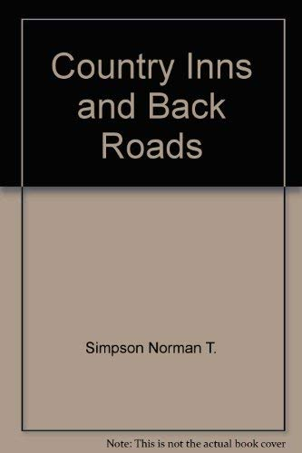 9780060912413: Country Inns and Back Roads