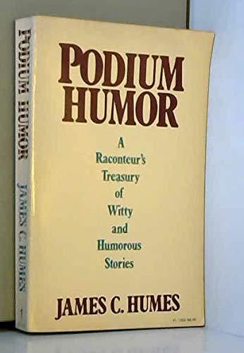 9780060913038: Podium Humor