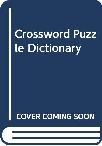 Crossword Puzzle Dictionary: Andrew Swanfeldt