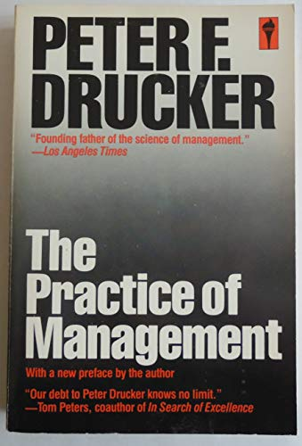 9780060913168: The Practice of Management