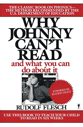 9780060913403: Why Johnny Can't Read: And What You Can Do about It