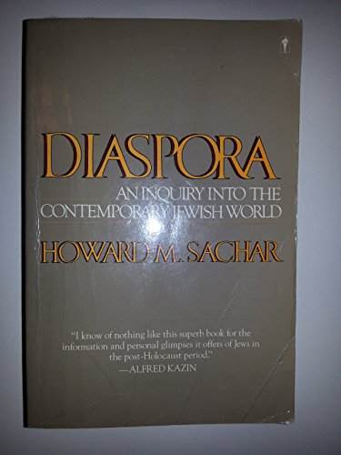 9780060913472: Diaspora: An Inquiry into the Contemporary Jewish World