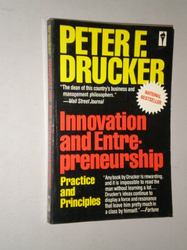9780060913601: INNOVATION AND ENTREPRENEURSHIP: PRACTICE AND PRINCIPLES