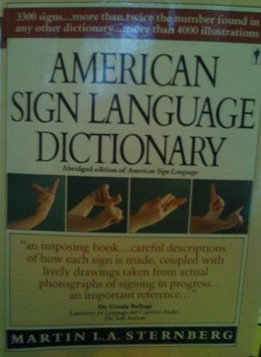 9780060913830: American Sign Language Dictionary