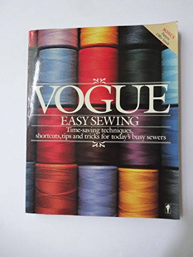 9780060914080: Vogue Easy Sewing