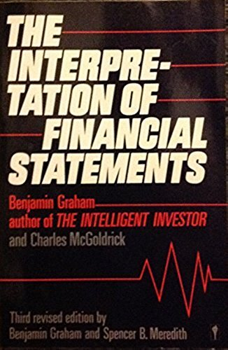 9780060914189: The Interpretation of Financial Statements